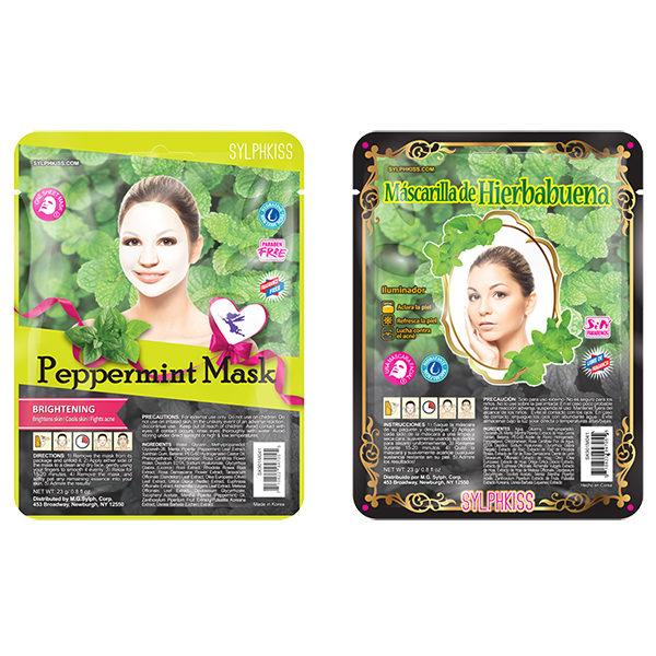 Peppermint Facial Sheet Mask